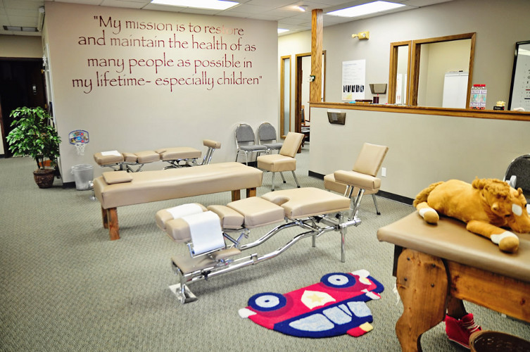 The Office at Thompson Chiropractic Pediatrcis and Wellness Center